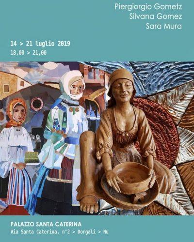 Mostra d'arte Piergiorgio Gometz, Silvana Gometz e Sara Mura